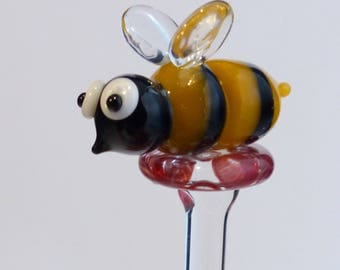 Honey Bee Honey Dipper
