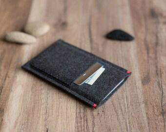 BlackBerry KEYone, Passport, Priv, Z10 case, Z30 case cover sleeve with pocket