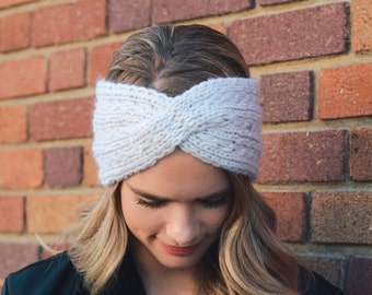 Winter Headband, Knit Headband, Knitted Headband, Christmas gift, gift for her, gift for girlfriend gift for friend, gift for women
