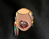 Dem Grillz Lapel Pin