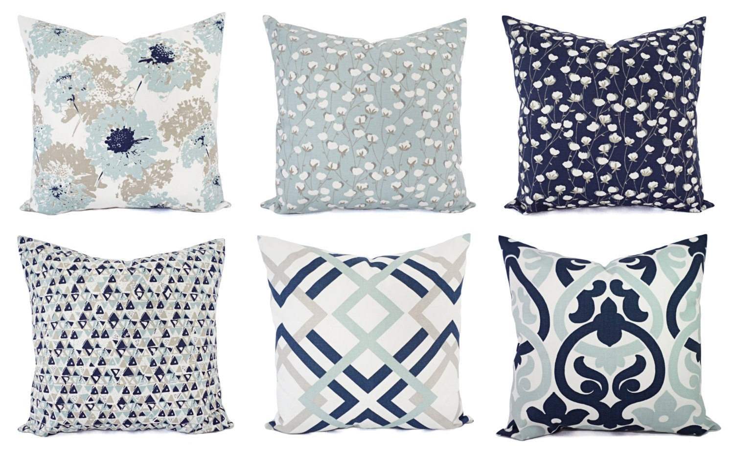 navy blue pillow cover blue and white throw pillow. Black Bedroom Furniture Sets. Home Design Ideas