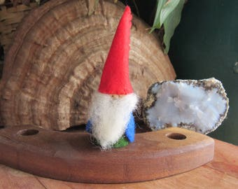 Gnome Birthday Ring Ornament - Waldorf Birthday Ring - Celebration Ring - Festivals