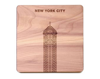 New York City Coaster - Flatiron Building