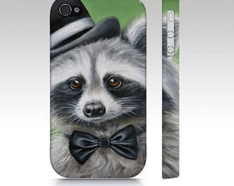 Racoon phone case, racoon case, racoon mobile case, animal tough case, iPhone case, Samsung Galaxy case, animal case, racoon tough case