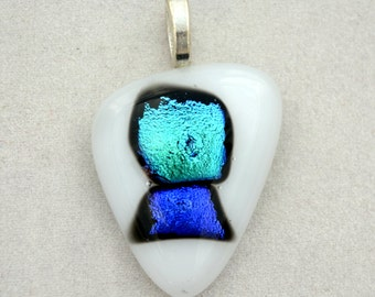 Beautiful Fused Glass Pendant