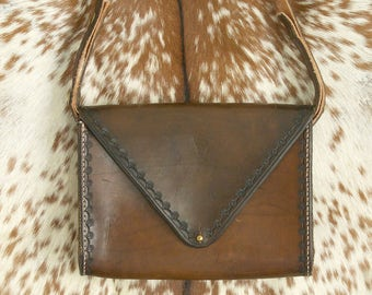 Stamped Leather Bag