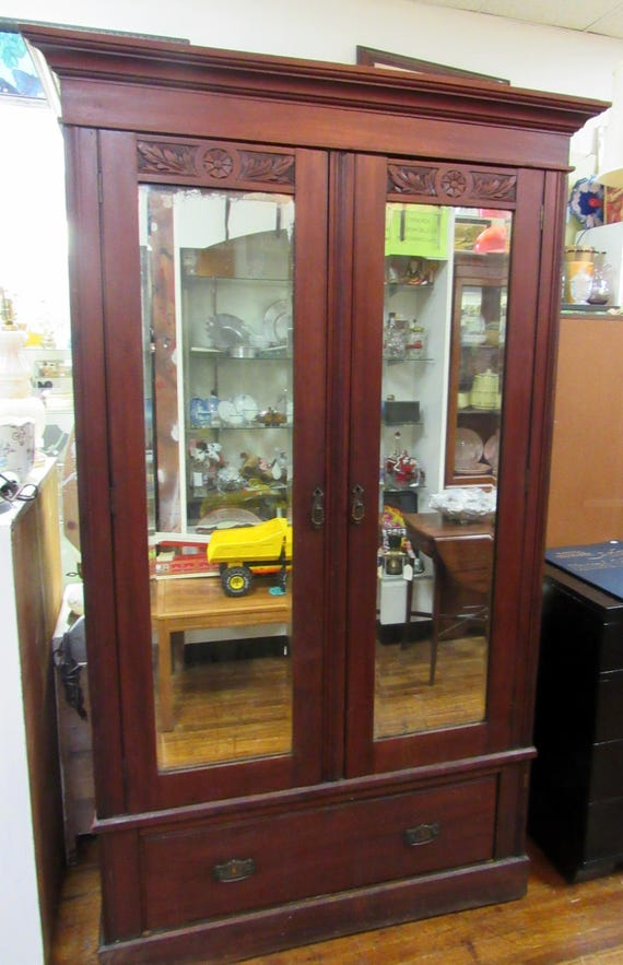 Antique Armoire or Wardrobe