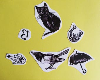 Superstitions Temporary Tattoo Pack
