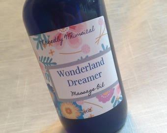 Wonderland Dreamer Scented Artisan All Natural Massage Oil Disney Inspired
