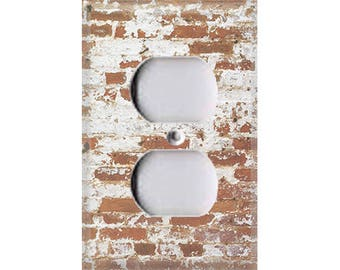 Country Rustic - Brick Outlet Cover