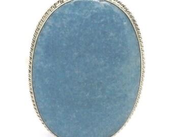 Violane Blue Diopside Ring Russia Transbaikalia