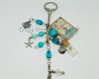 The  Little Mermaid Purse Charm/ Keychain