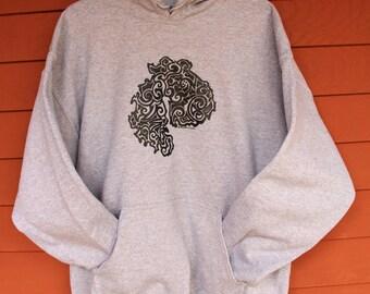 MDI Tribal Tattoo SweatShirt  - Sport Gray Adult Sizes S-XL