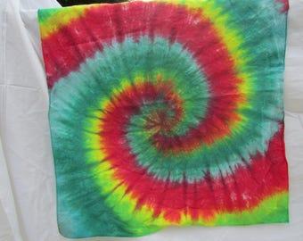 Bandannas/ Spiral Bandannas/ Rasta Bandannas/ Girl Bandannas/ Mens Bandannas/Tie-Dye Bandannas/ Tie-Dye Spirals/ Easy Wind Family Creations