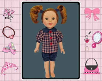 14 inch doll clothes / Mine to Love 14 / Wellie Wishers / Toddler Princess