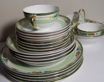 Meito Service for 4 Dinnerware