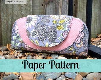 PAPER PATTERN Cleo Everyday Wallet  – Andrie Designs