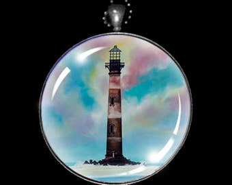 Necklace of The Morris Island Lighthouse