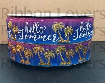 Hello Summer USDR Collection - Purple/Blue