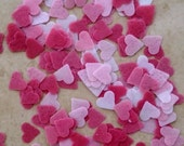 Heart Edible Confetti , Valentine Confetti,Cupcake Sprinkles, Cake Decorations, Baking Decoration, Party Supplies, Wafer Paper, Sugar Sheets