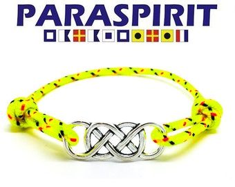 Paraspirit Celtic Adjustable Nautical Rope Bracelet
