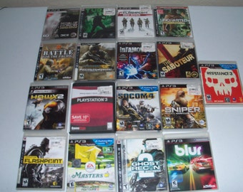 PS3 Play Station 3 Set Of Seventeen Video Games