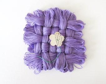 Medium Dark Blue Violet Thread - #155 - Pack of 12 Skeins