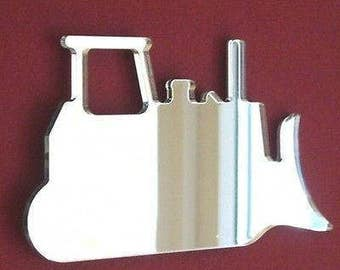 Bulldozer Shaped Mirrors - 5 Sizes Available