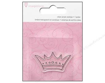 imaginisce Little Princess Crown Stamps