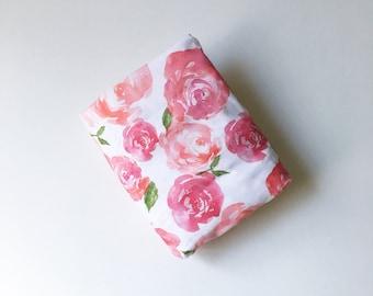Crib Sheet Pink Peonies. Fitted Crib Sheet. Baby Bedding. Crib Bedding. Minky Crib Sheet. Crib Sheets. Floral Crib Sheet. Pink Crib sheet.