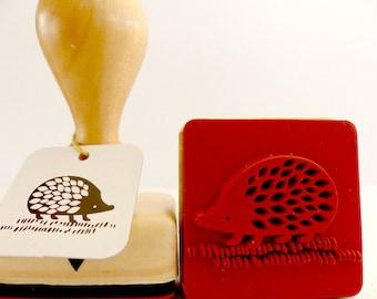 Wood stamps Hedgehog