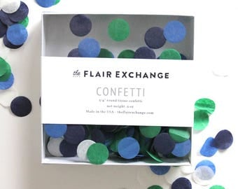 SALE - Tissue Paper Confetti - Blues and Green
