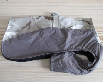 """13"""" Two tone waterproof dog coat with chest protection"""
