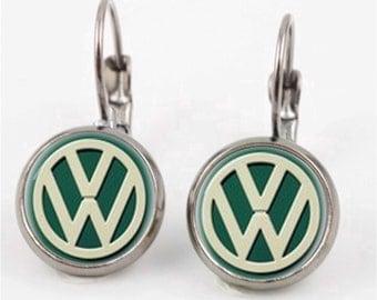 Vintage VW Earrings or Ring