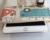 ipad mini scratch cover - VW Camper van fabric
