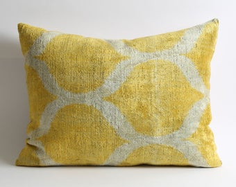 yellow velvet pillow, velvet pillow, throw pillow, yellow pillow, decorative pillow, pillow cover, pillow, accent pillow, decorative pillows