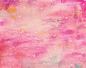 Pink Galaxy 12×12 scrapbook paper