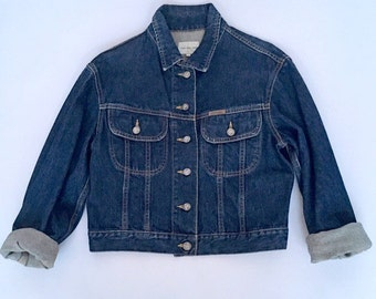 Denim jacket xs | Etsy