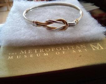 Love knot or Hercules Knot bracelet- Metropolitan Museum of Art and Clevland Museum of Art