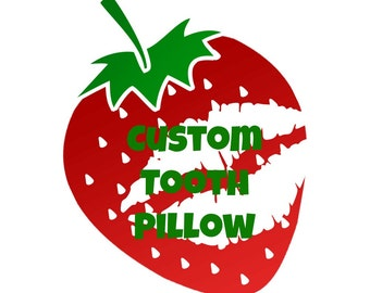 Custom Tooth Pillow