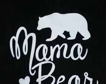 Mama Bear T shirt Ladies/ Womens/ Juniors Shirt