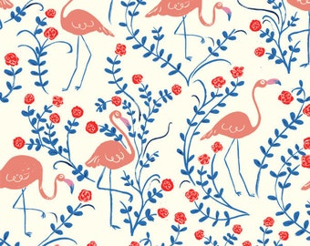 Wonderland- Croquet Double Gauze- by Emily Isabelle for Birch Fabrics