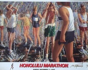 2005 Honolulu Marathon Posters