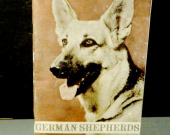 1955 German Shepherd as pets - T.F.H. publications