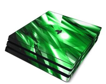 Sony PS4 Pro Skin Kit - Kryptonite - Sticker Decal Wrap