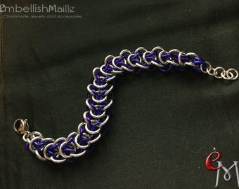 Elfweave Chainmaille Bracelet, Elf bracelet, Men's bracelet, Women's bracelet, Great for men or women! Lead/Nickel Free. Customize for you!