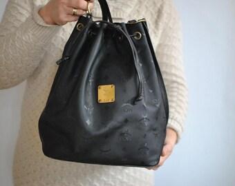 Vintage MCM TOTE BAG , women's designer bag............(072)