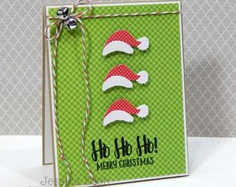 Ho Ho Ho Merry Christmas! Handmade Christmas Card