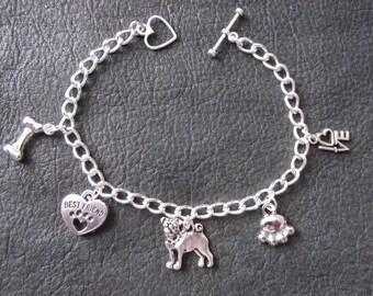Pug Jewelry Etsy