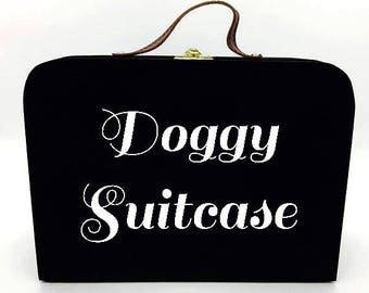 Dog Suitcase, dog treat stroage, pup toy box, pet vacation